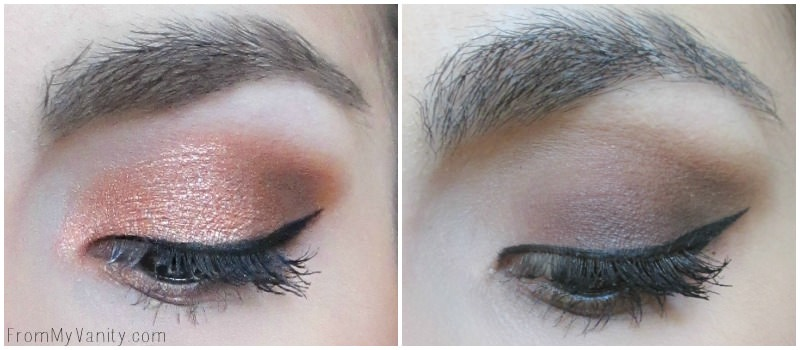 Click to see the tutorials on how to get both of these looks! Done using the Semi-Sweet palette!