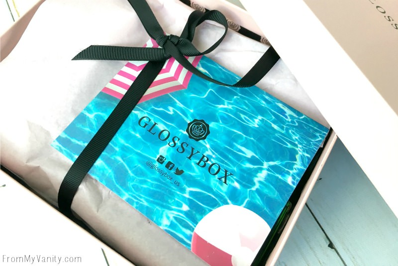 Surprises await inside Glossybox!
