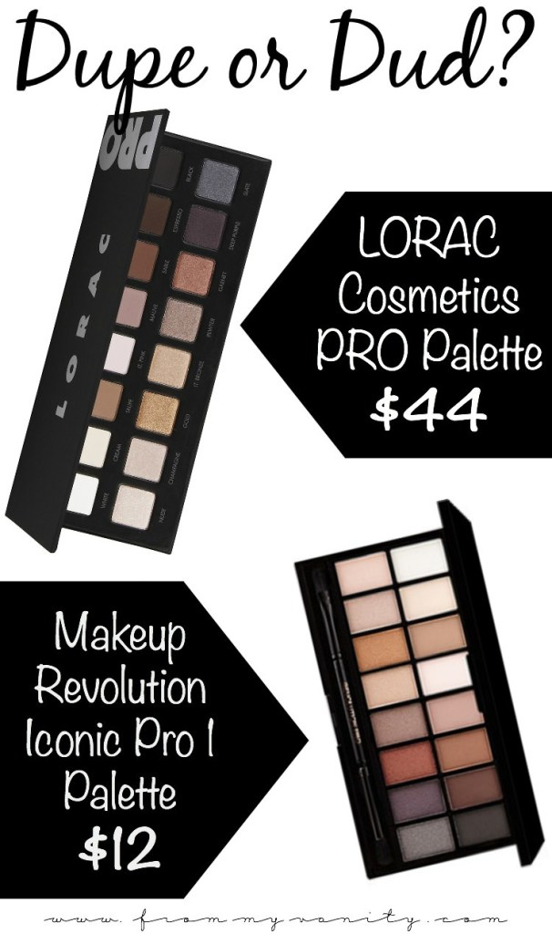 The Makeup Revolution Iconic Pro 1 palette is passed around as a dupe for the LORAC PRO palette...but is it really? The results from this blogger's tests surprised me!