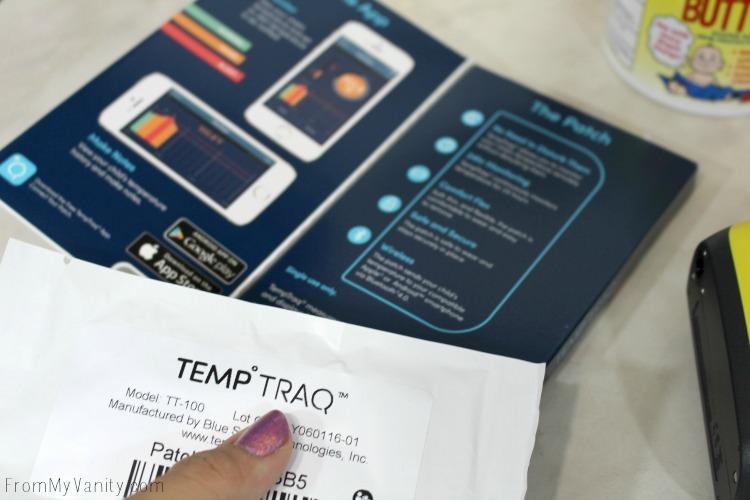 A sinlge use TempTraq
