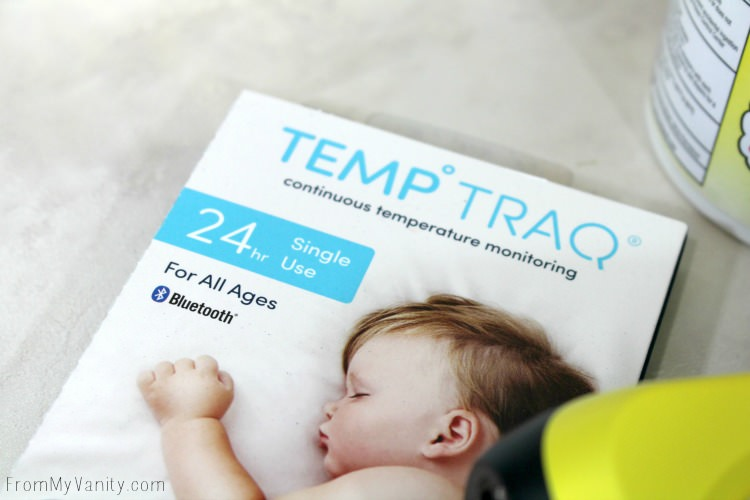 Take baby's temperature while she sleeps!