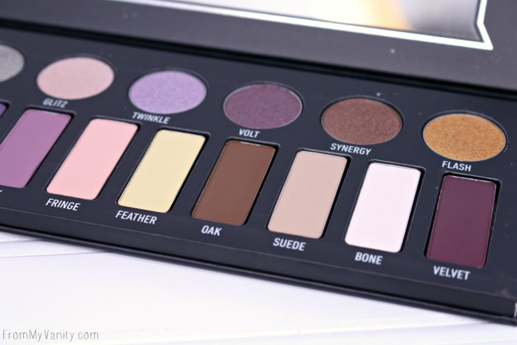 The neutral side of the Kat Von D MetalMatte palette