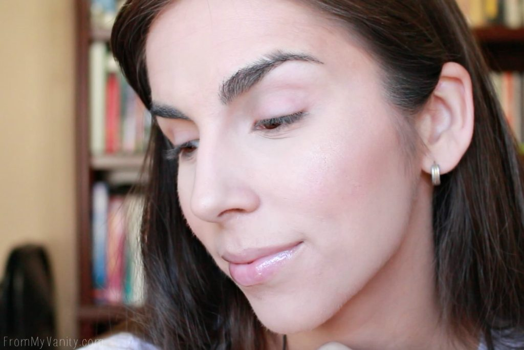 After results of my airbrush makeup first impressions! Check out that GLOW!