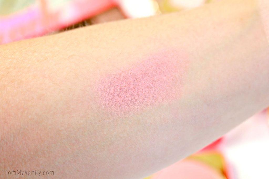 Too Faced Sweet Peach Papa Don't Peach Blush | Arm swatch