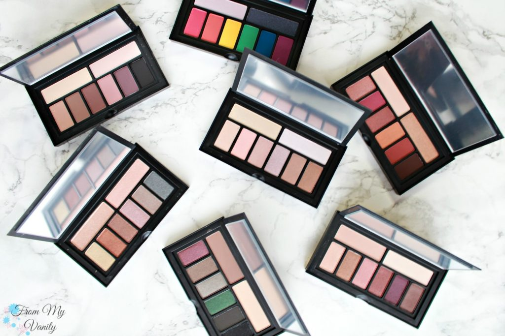 Smashbox Cover Shot Palette Collection - Review, Swatches