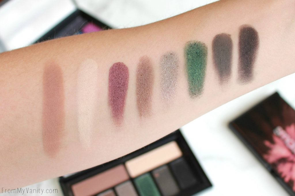 Smashbox Cover Shot Palette Collection   Smoky   Swatches