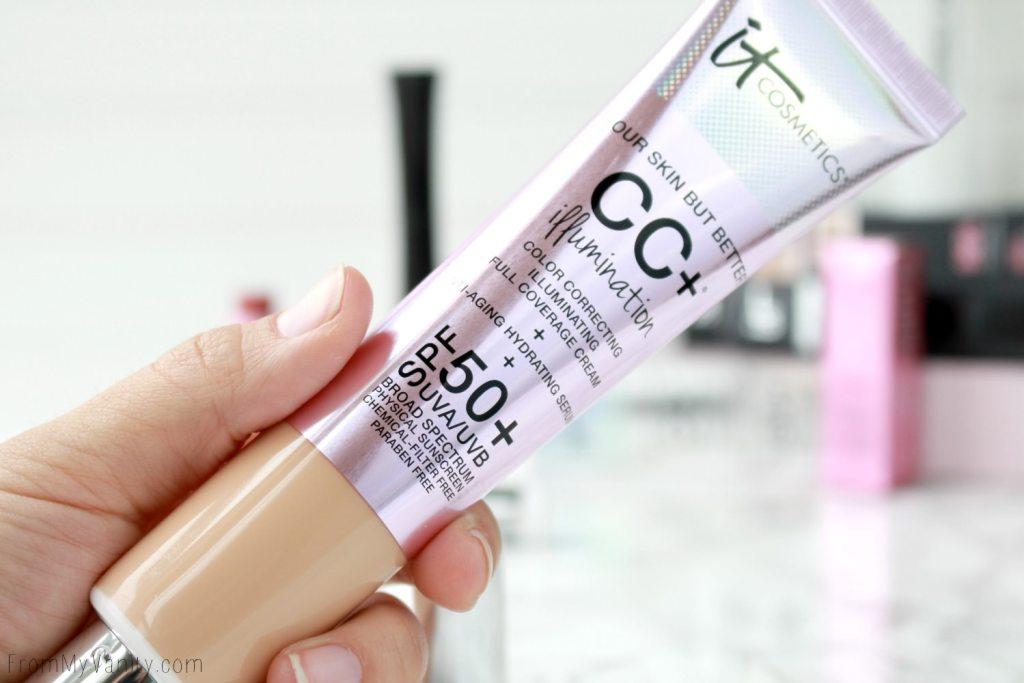 QVC TSV Presale   IT Cosmetics It's All About You! Customer Favorites   Full Coverage SPF 50 CC+ Cream Illumination
