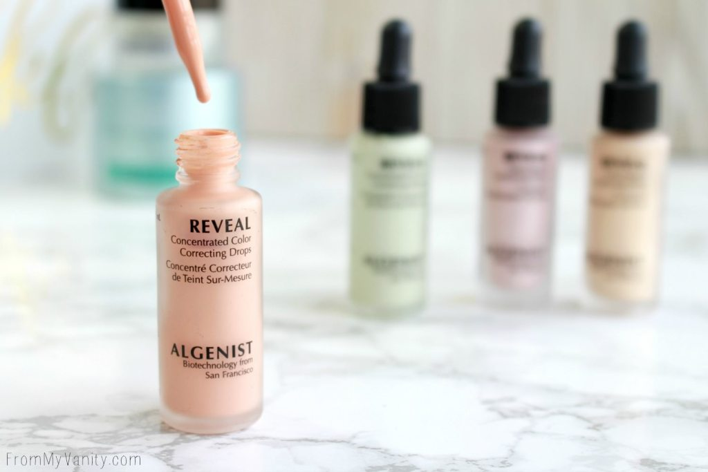 Algenist Reveal Concentrated Drops | The Secret to Natural Makeup? | Reveal Concentrated Color Correcting Drops in Apricot
