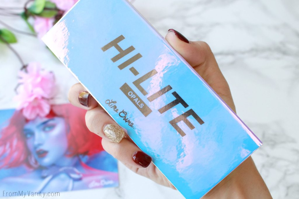 Lime Crime Hi-Lite Opals Palette | Review & Swatches | Iridecent Packaging