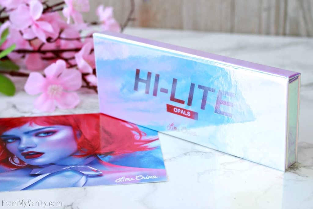 Lime Crime Hi-Lite Opals Palette | Review & Swatches