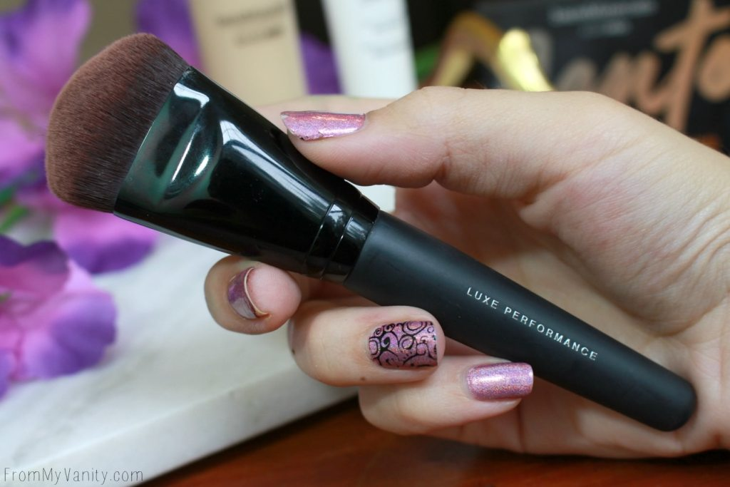 Bare Minerals barePro Performance Wear Collection | Luxe Performance Foundation Paddle Brush
