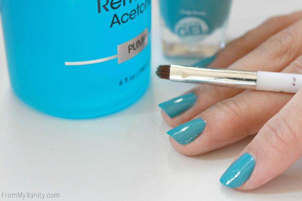 Easy Dotticure Nail Art   Tutorial   Step 4