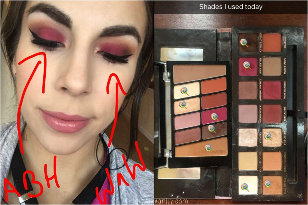 Dupe or Dud   ABH Modern Renaissance vs Wet n Wild Rosé in the Air Palette   Eye Looks Using Both Palettes