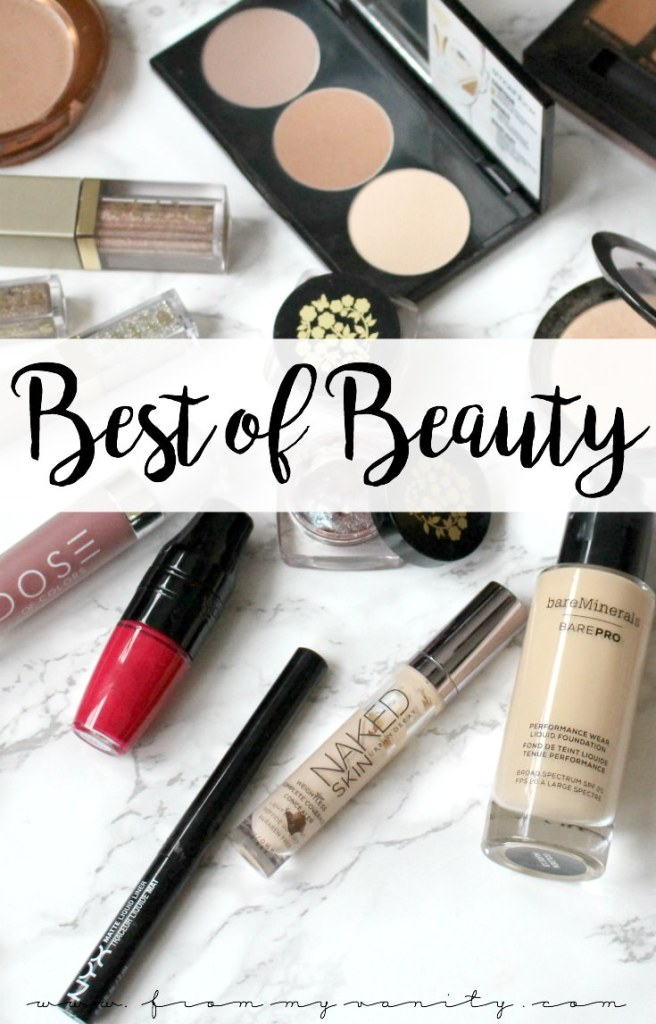 Best of Beauty 2017 | Makeup Favorites from the YEAR | Products that Stood Out!