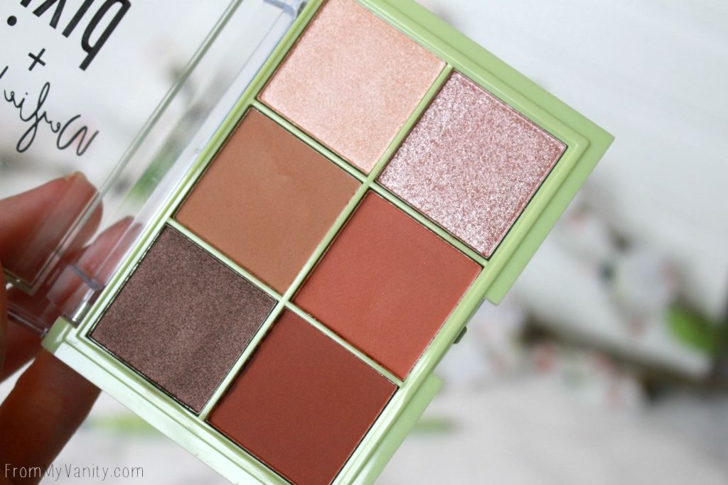 Pixi and Weylie Hoang Dimensional Eye Creator Kit | Palette Closeup