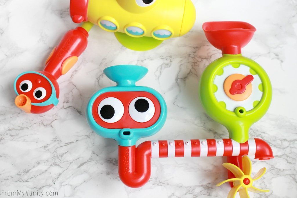4 MUST HAVE Bath Toys You May Not Know About   Yookidoo Submarine Spray Station