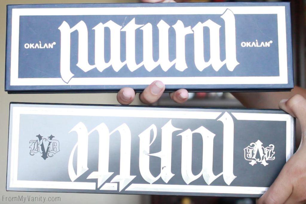 Dupe or Dud | KVD MetalMatte vs Okalan MatteMetal | Eye Look Comparison! | They Copied KVD!