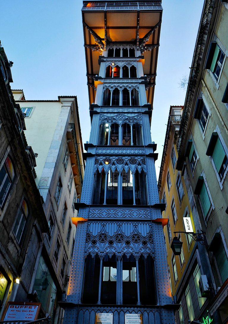 Elevator de Santa Justa Lisbonne
