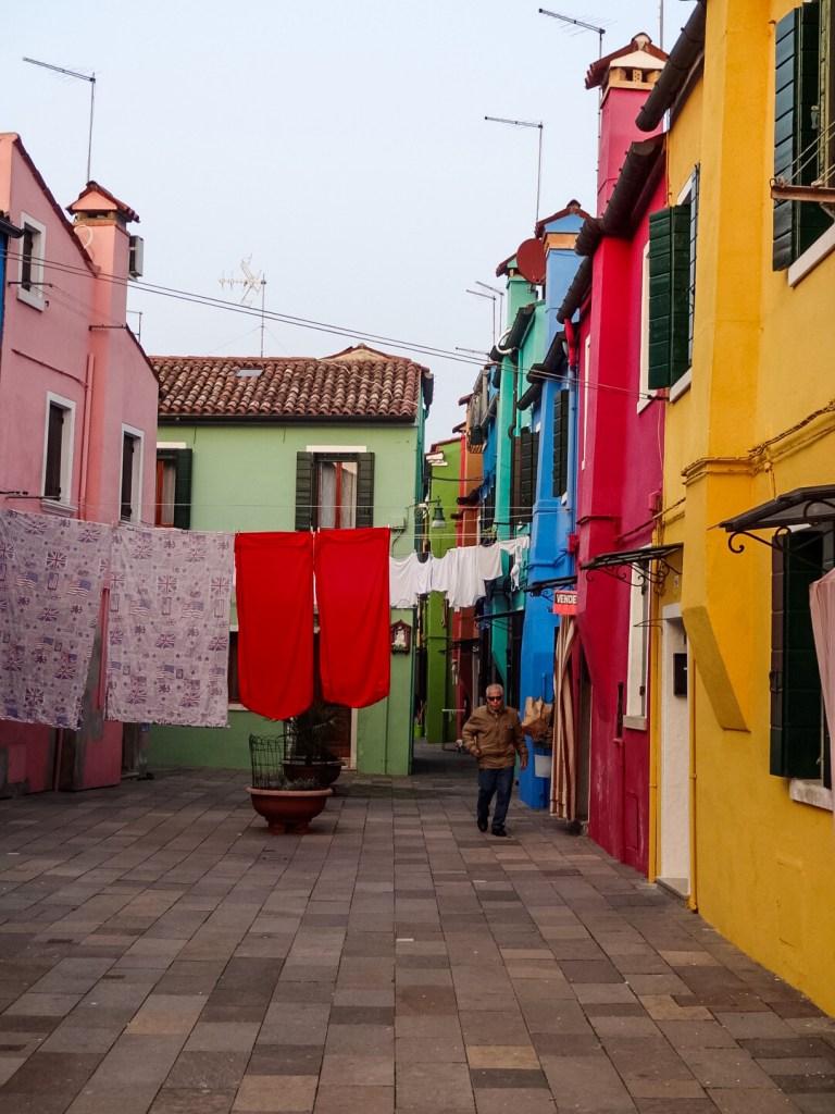 Burano street Venice
