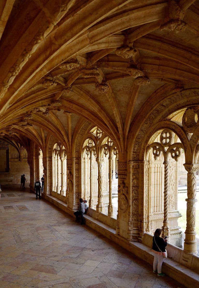 Vault of Monastery of Hieronymites Lisbon