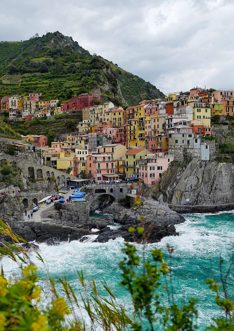 Manarola five lands Liguria Italy