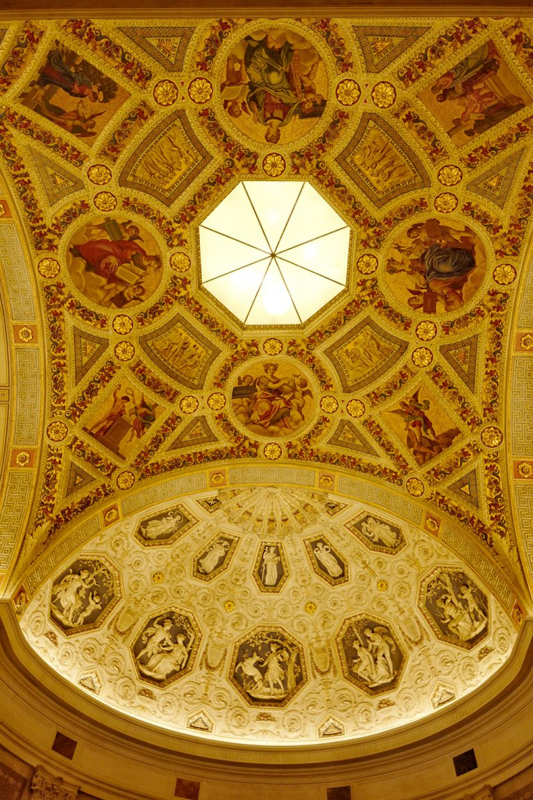 Ceiling Morgan Library New York