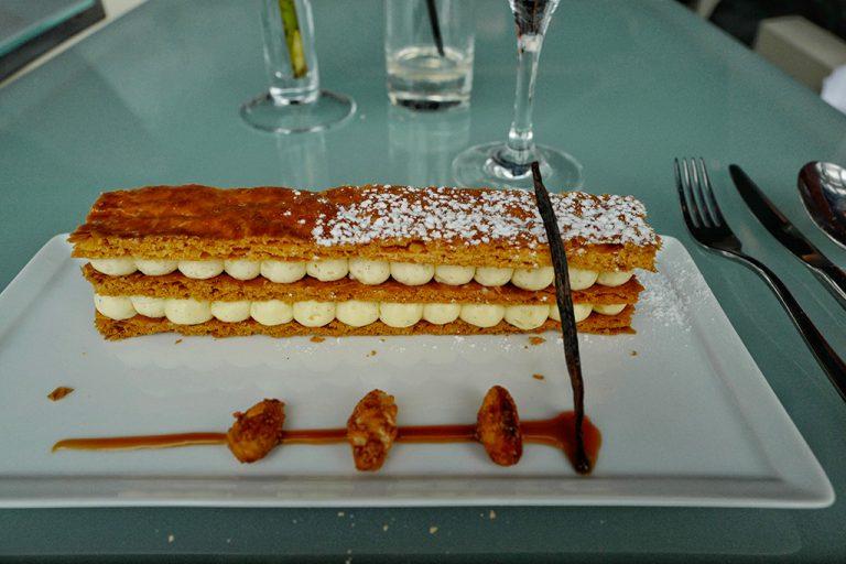 Millefeuille at Georges restaurant Pompidou Center Paris