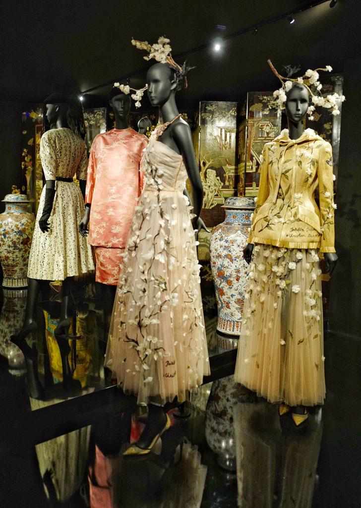 Asian theme exhibition Dior