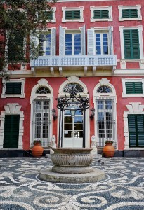 Entrée de la villa Durazzo Santa Margherita