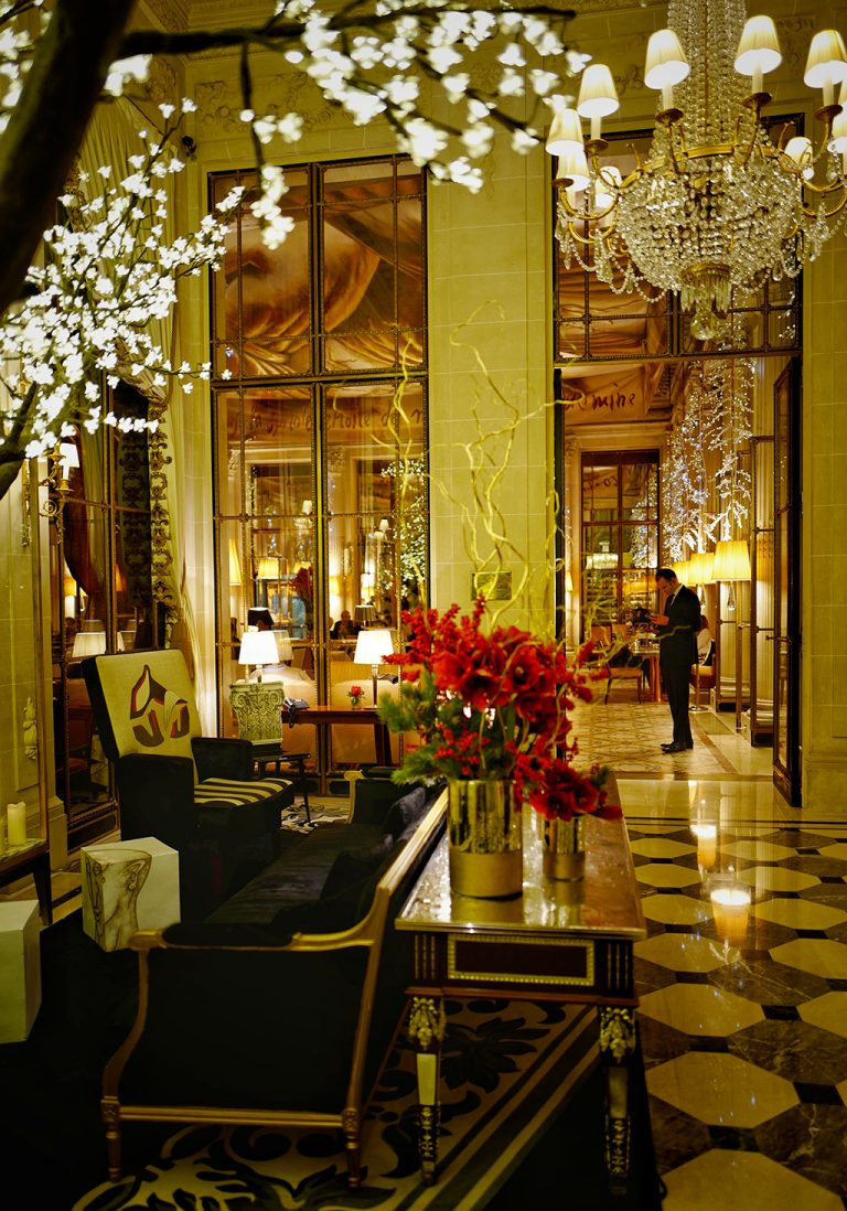 The Meurice Hotel lobby Paris