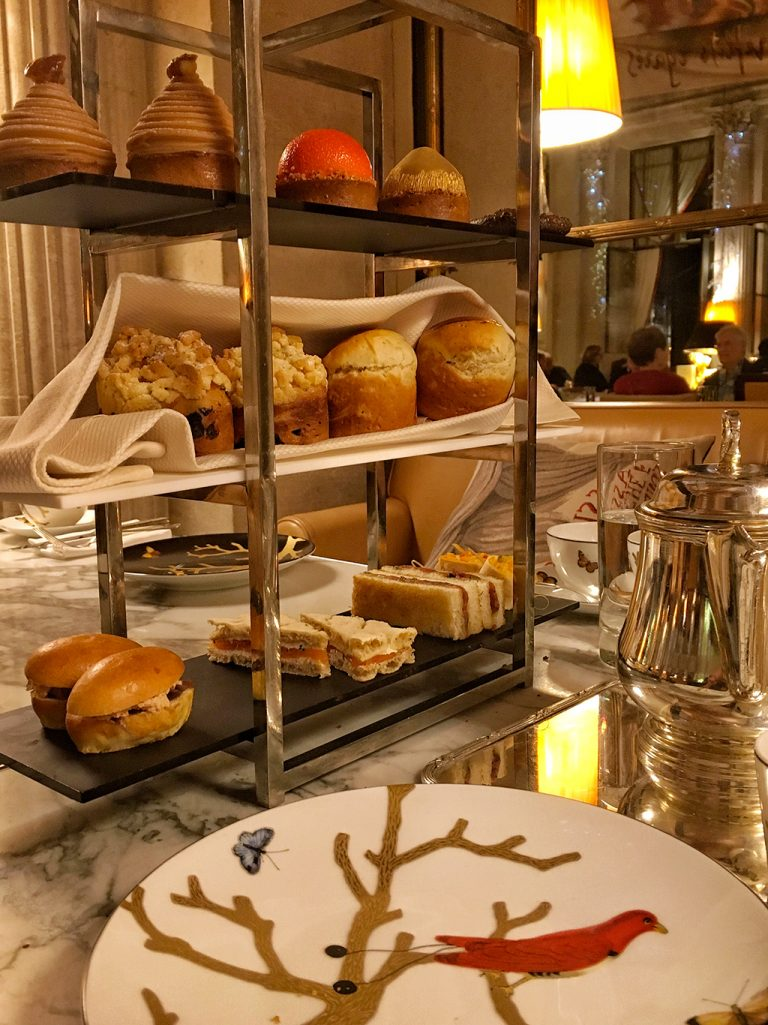 Tea Time The Meurice Hotel Paris