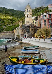 Vernazza five lands Liguria Italy