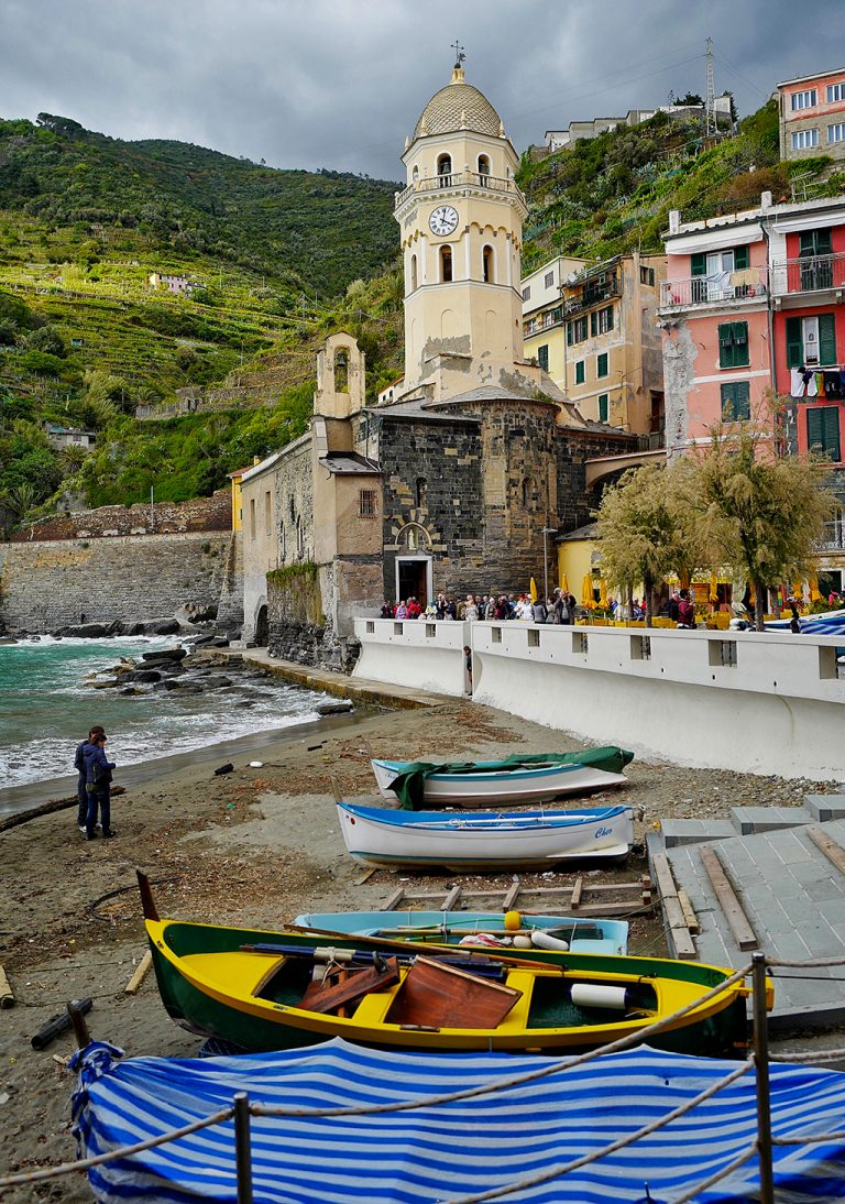 Vernazza five lands Liguria Italy