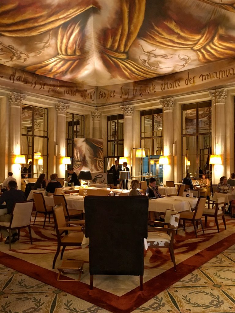 The Dali restaurant The Meurice Paris