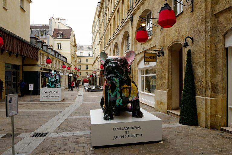 Sculpture Doggy John by Julien Marinetti