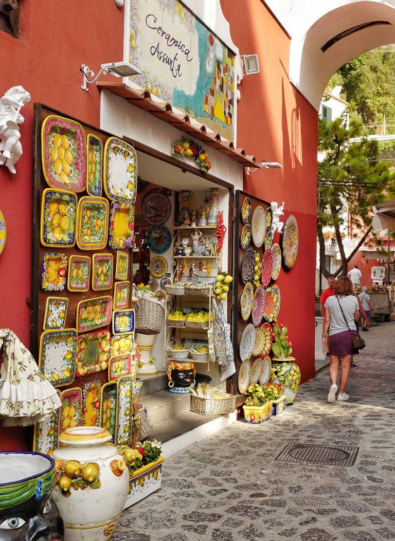 Assunta ceramic Positano, Italy