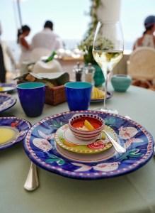 La Sponda restaurant Positano, Italie