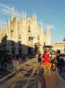 Place of Duomo Milan