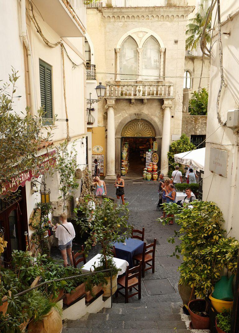 Alleys Amalfi, Italy