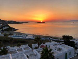 Mykonos Sunset Greece