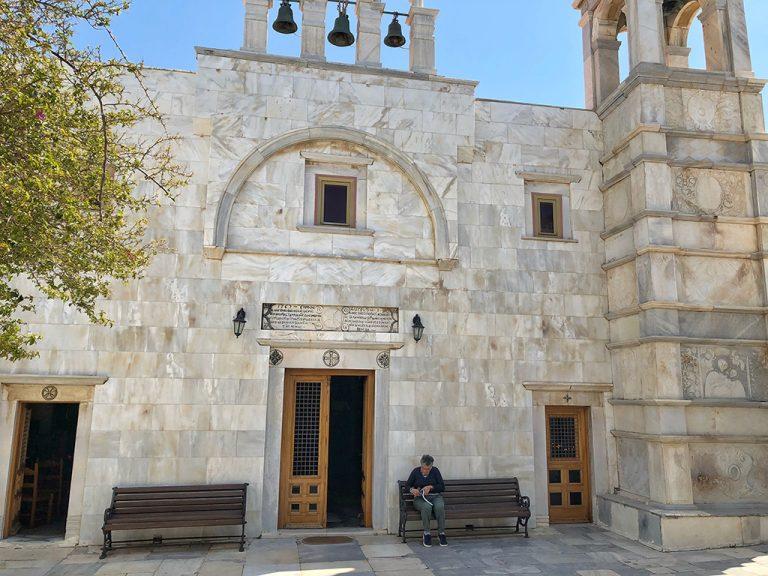 Monastère de la Panagia Tourliani Mykonos