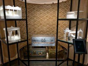 Louis Vuitton metal trunks