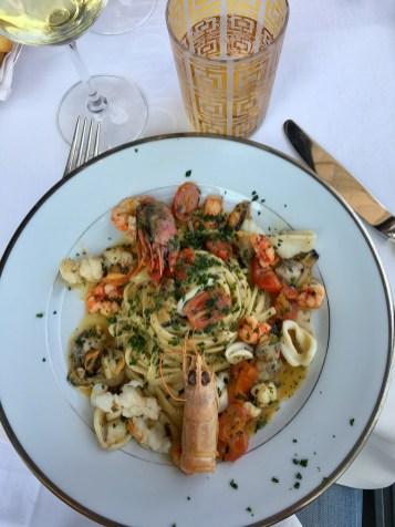 Restaurant Giacomo Arengario Milan plat de fruits de mer