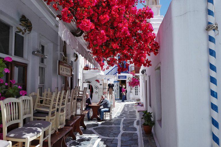 Restaurant Katrin Mykonos Grèce