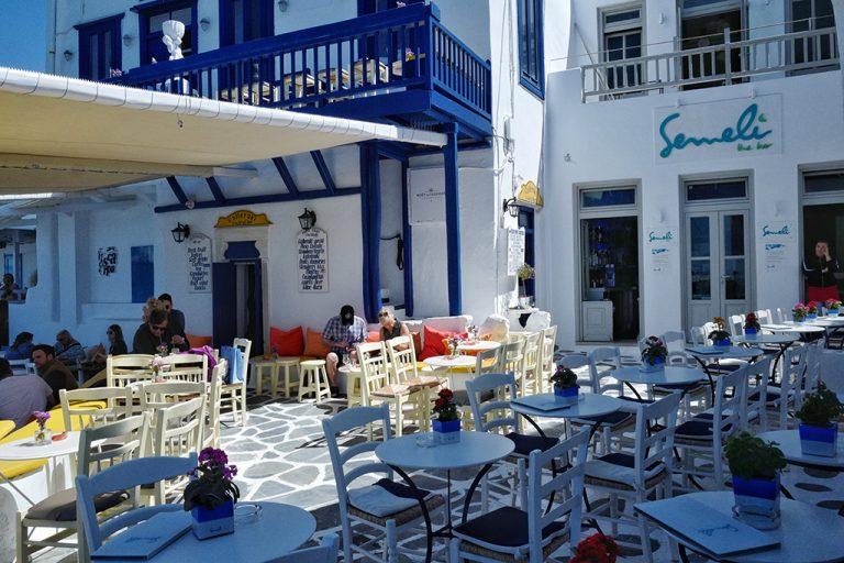 Restaurant Semeli Mykonos Grèce