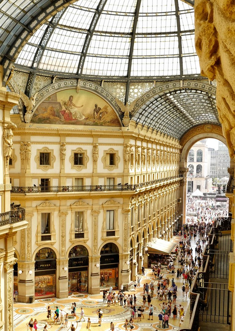 Hotel view TownHouse Galleria Milan