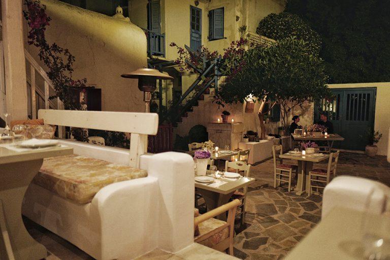 Nautilus restaurant Mykonos