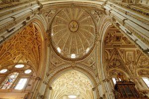 Dôme cathédrale Cordoue