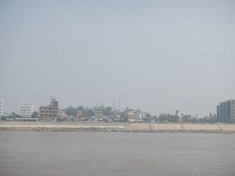 Phnom Penh sur le Mékong