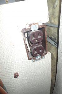 Outlet for old fridge